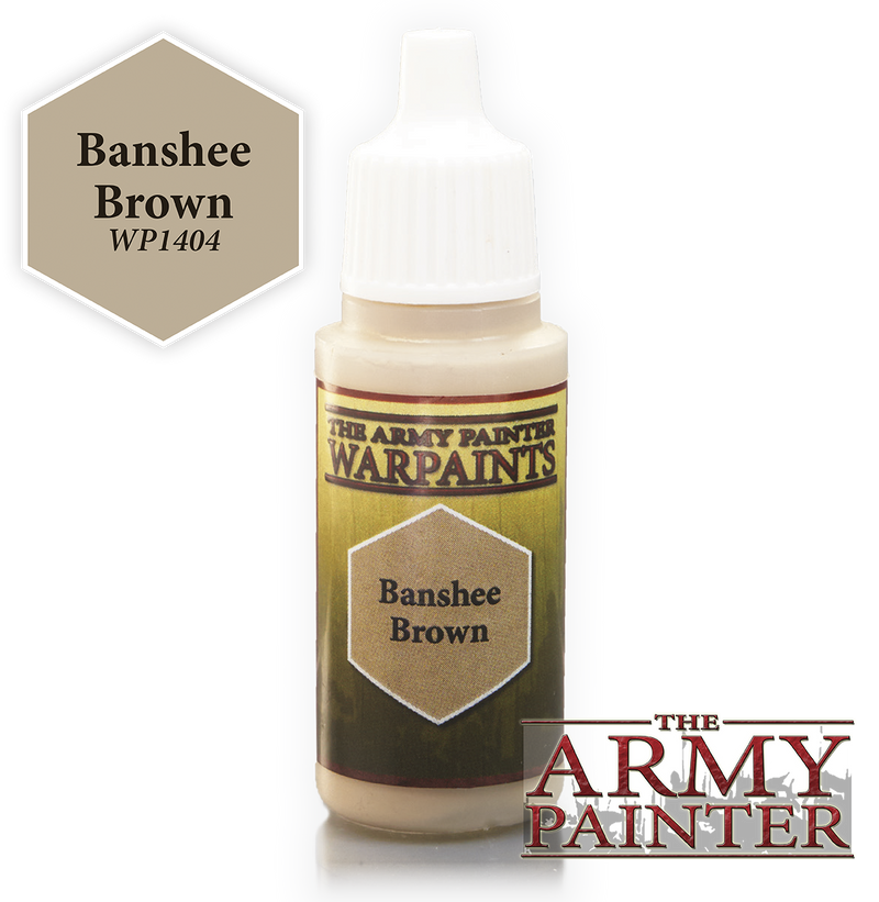 Banshee Brown Acrylic Warpaints