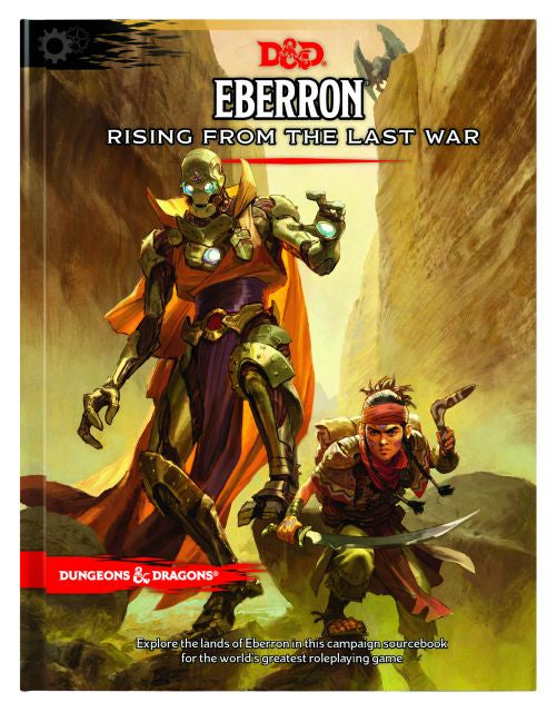 D&D 5th Edition Eberron: Rising from the Last War