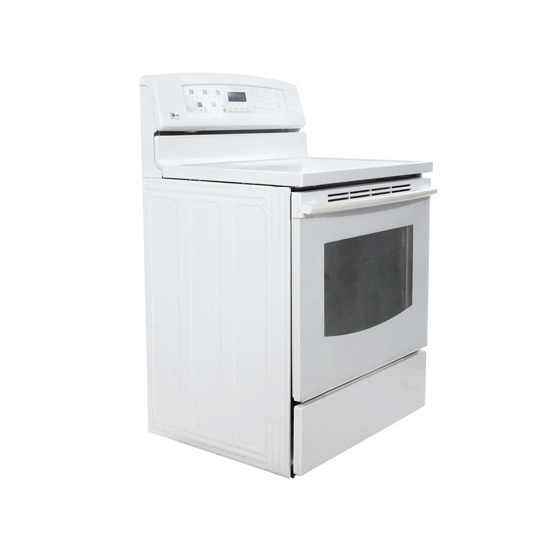 LG 30' Electric Stove LSB5611SW/02 White (1)