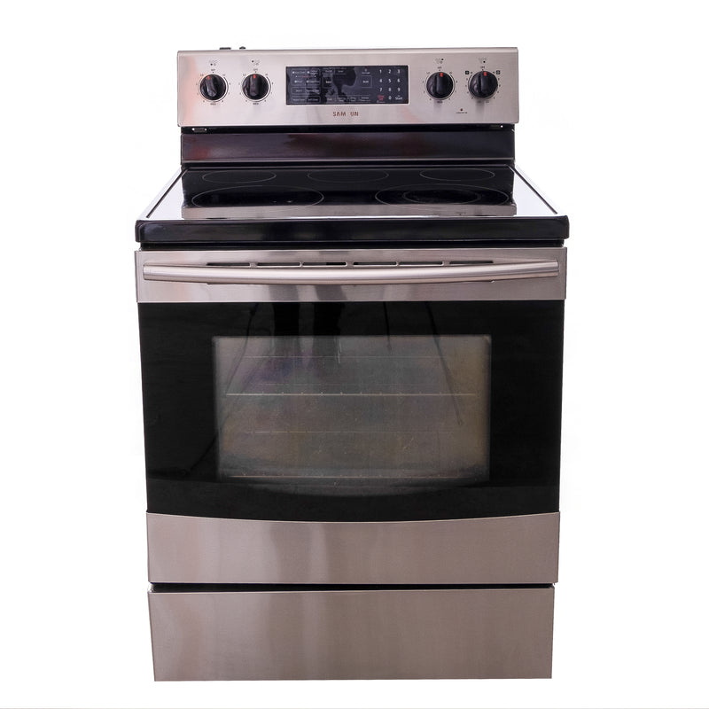 Samsung 30' Electric Stove N/D Stainless steel