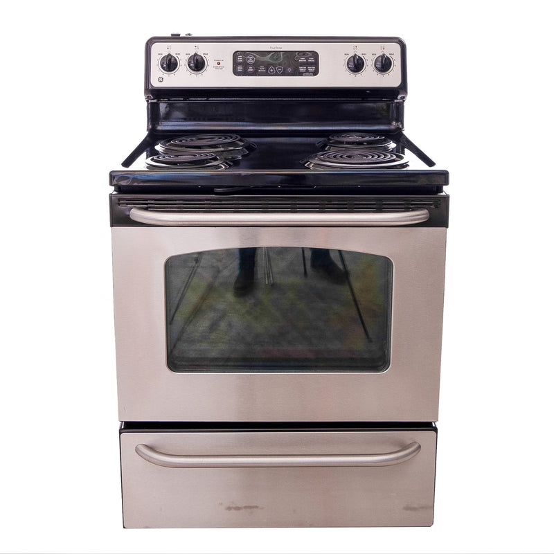 GE 30' TrueTemp Electric Stove JCBP35SL1SS Stainless steel