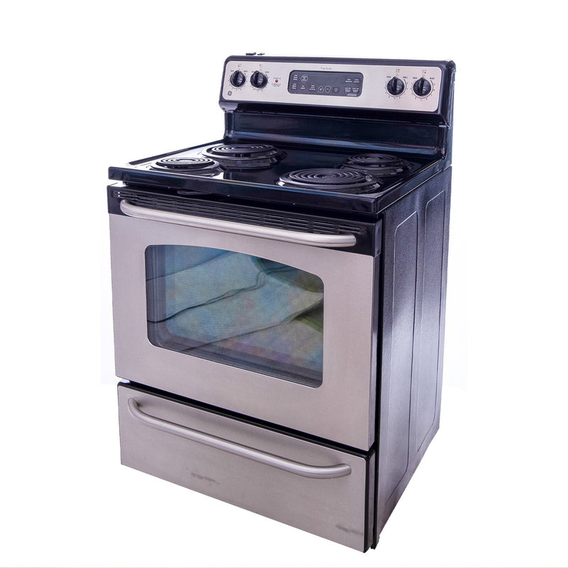 GE 30' TrueTemp Electric Stove JCBP35SL1SS Stainless steel (1)
