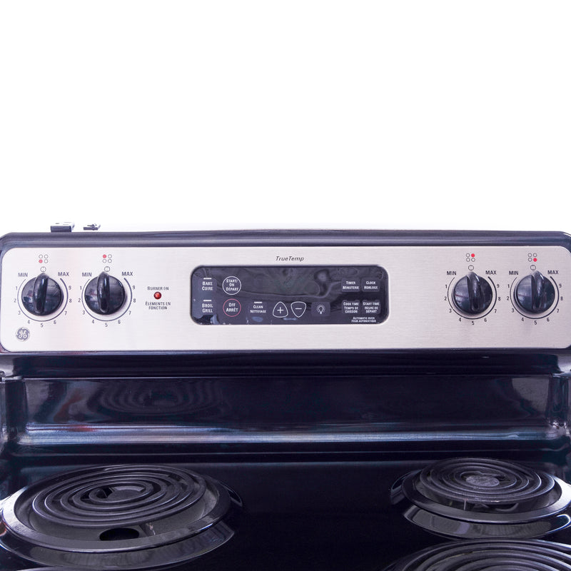 GE 30' TrueTemp Electric Stove JCBP35SL1SS Stainless steel (3)