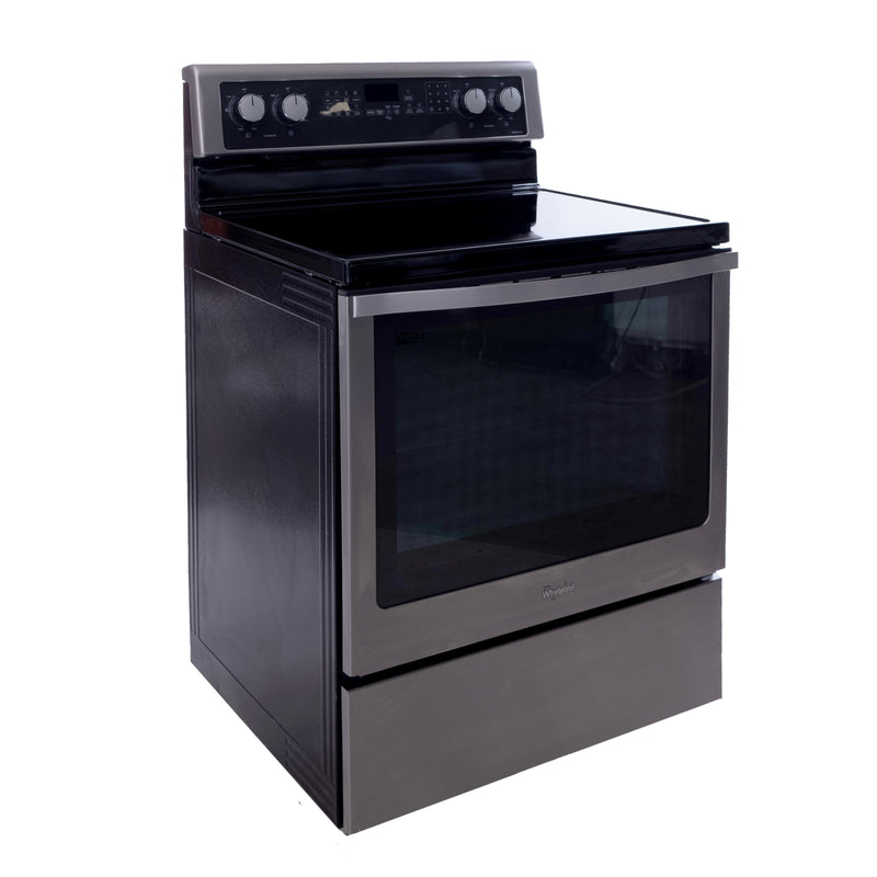 Whirlpool 24' Electric Stove YWFE710H0AS0 Stainless steel (1)