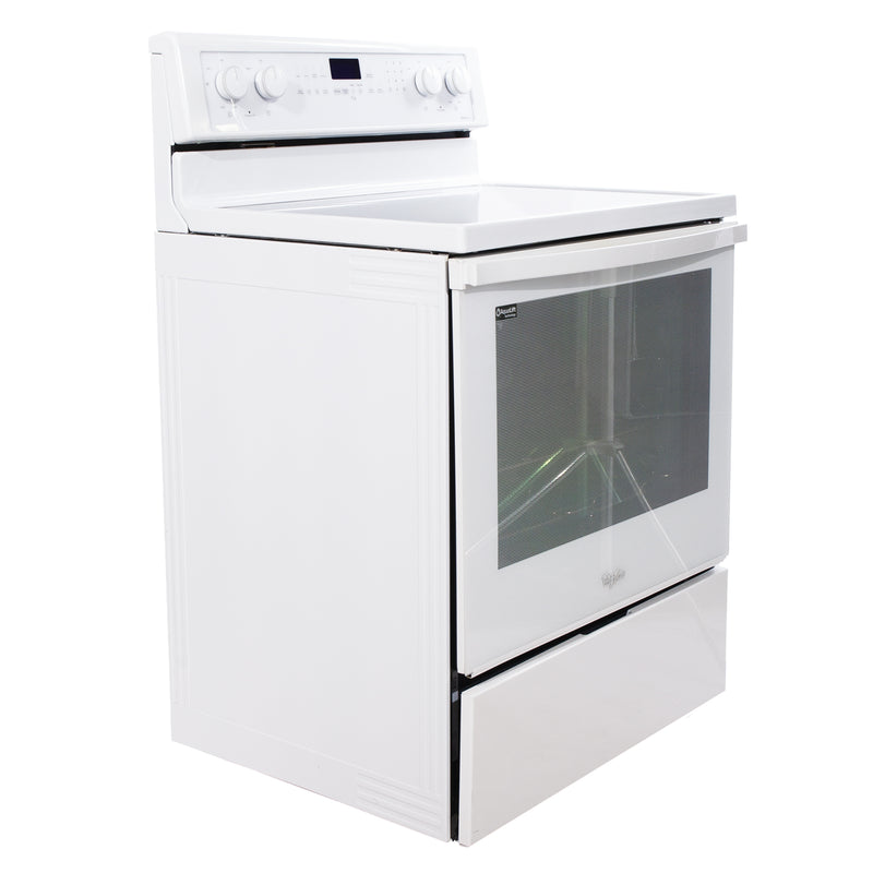 Whirlpool 30 Freestanding Electric Convection Ranges & Cooking Appliances YXFE710H0AX0 White (1)