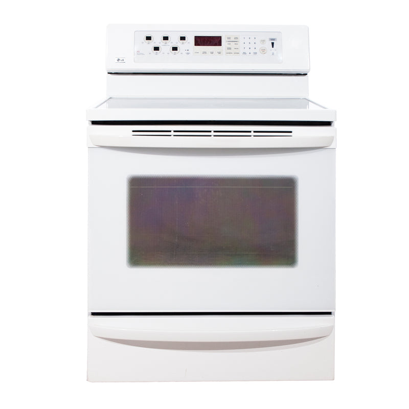 LG 30'' Freestanding Electric Electric Stove LSC5883WW/01 White