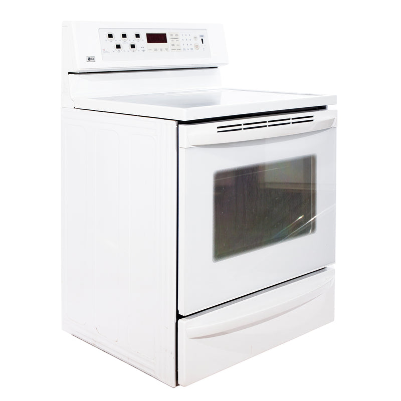 LG 30'' Freestanding Electric Electric Stove LSC5883WW/01 White (1)