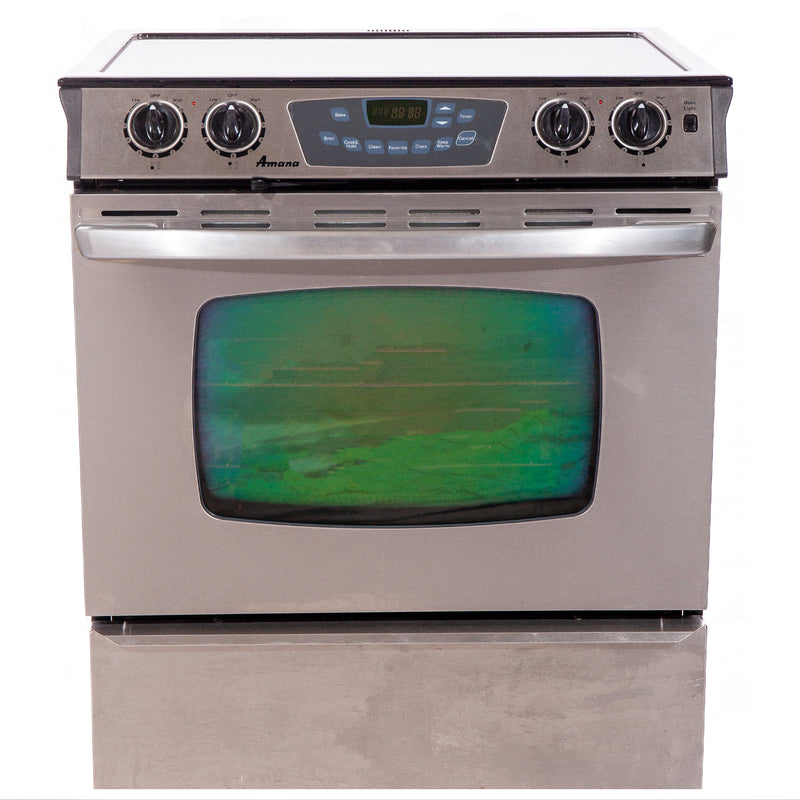 Amana 30.75' Maytag Electric Stove AES3760BCS Stainless steel