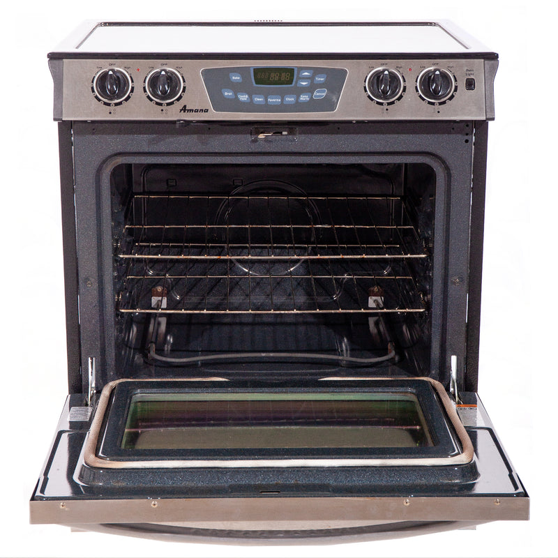 Amana 30.75' Maytag Electric Stove AES3760BCS Stainless steel (2)