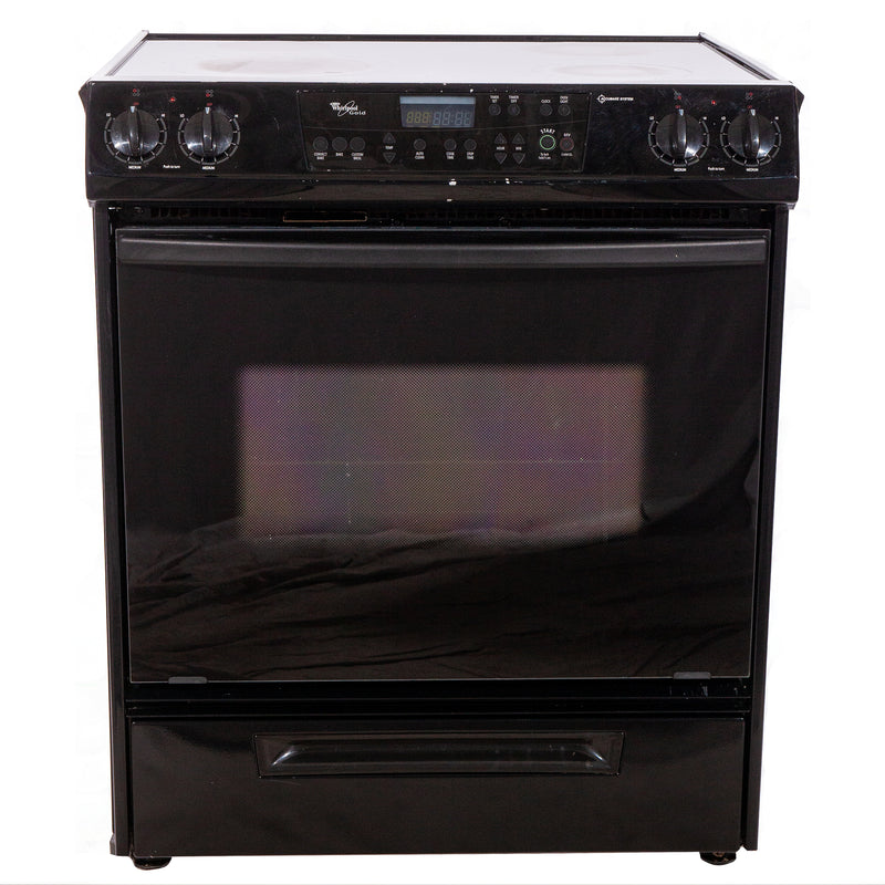 Whirlpool 31' Gold Electric Stove N/D Black