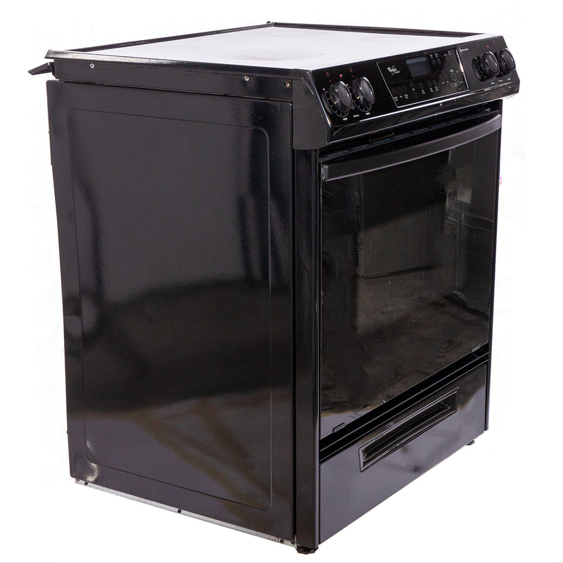 Whirlpool 31' Gold Electric Stove N/D Black (1)