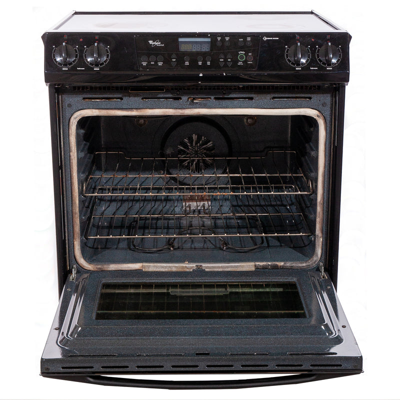 Whirlpool 31' Gold Electric Stove N/D Black (2)