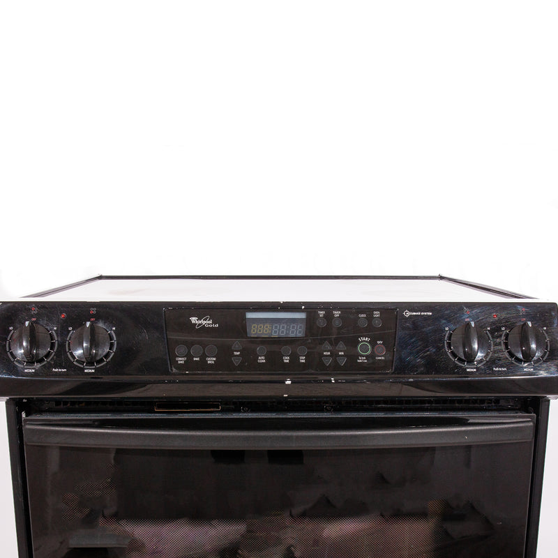 Whirlpool 31' Gold Electric Stove N/D Black (3)