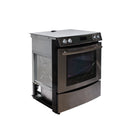 Jenn-Air 30 Electric Stove JES8850BCW Stainless Steel (1)