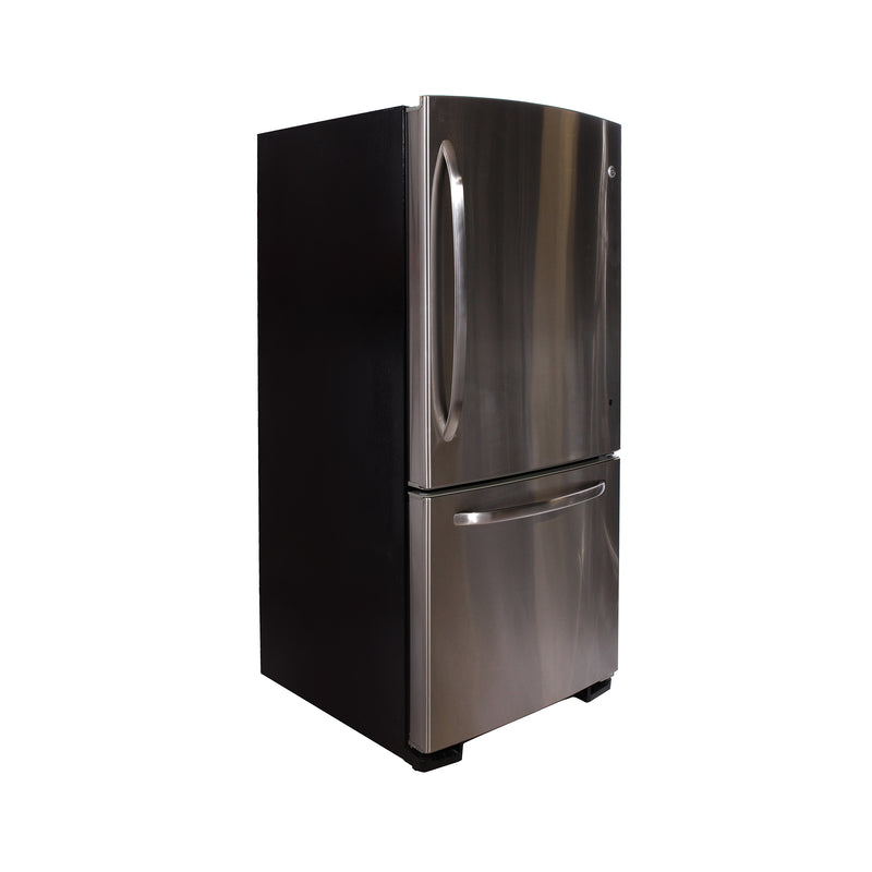GE 30'' Bottom Mount Refrigerators GBRS0HBXARSS Black (1)