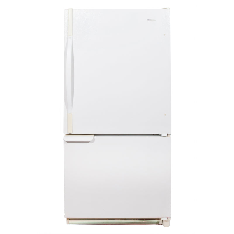 Amana 30'' Bottom Freezer Refrigerators DRB1802AW White