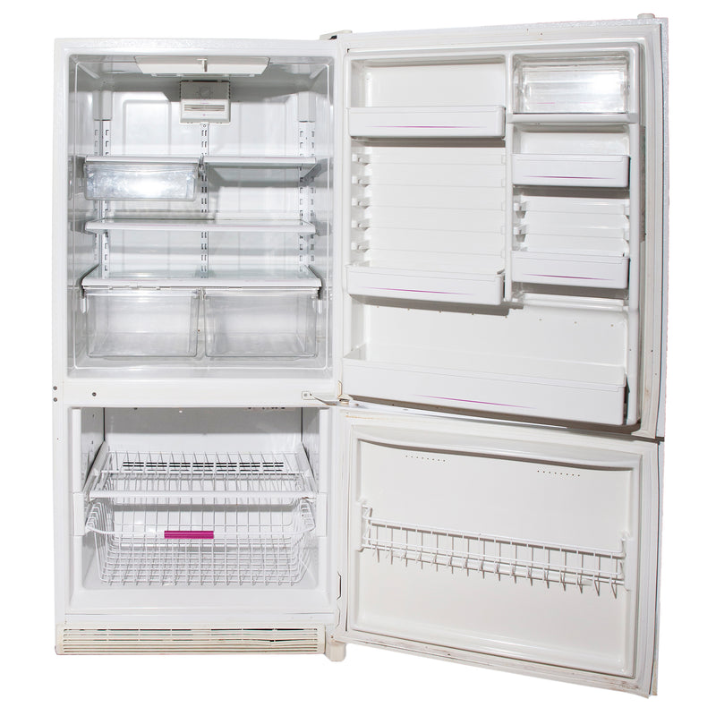 Amana 30'' Bottom Freezer Refrigerators DRB1802AW White (3)