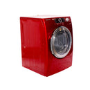 Samsung 27' Front Load Electric Steam Dryers DV339AER/XAC Red (1)