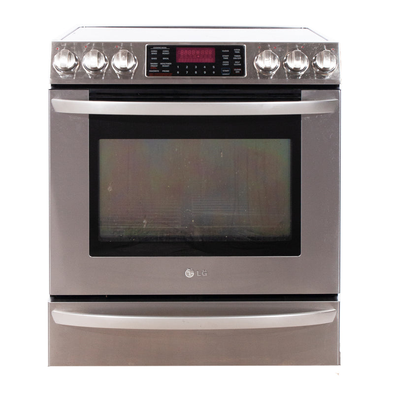 LG 30'' Free-Standing Electric Range Electric Stove L8E30928T Stainless Steel