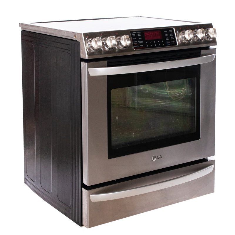 LG 30'' Free-Standing Electric Range Electric Stove L8E30928T Stainless Steel (1)