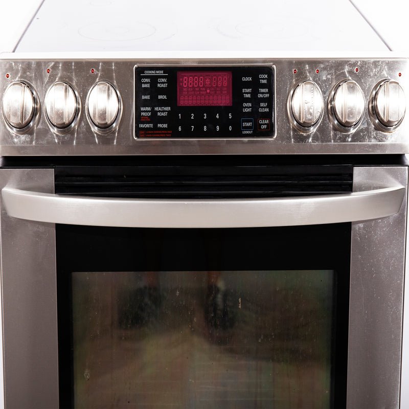 LG 30'' Free-Standing Electric Range Electric Stove L8E30928T Stainless Steel (3)