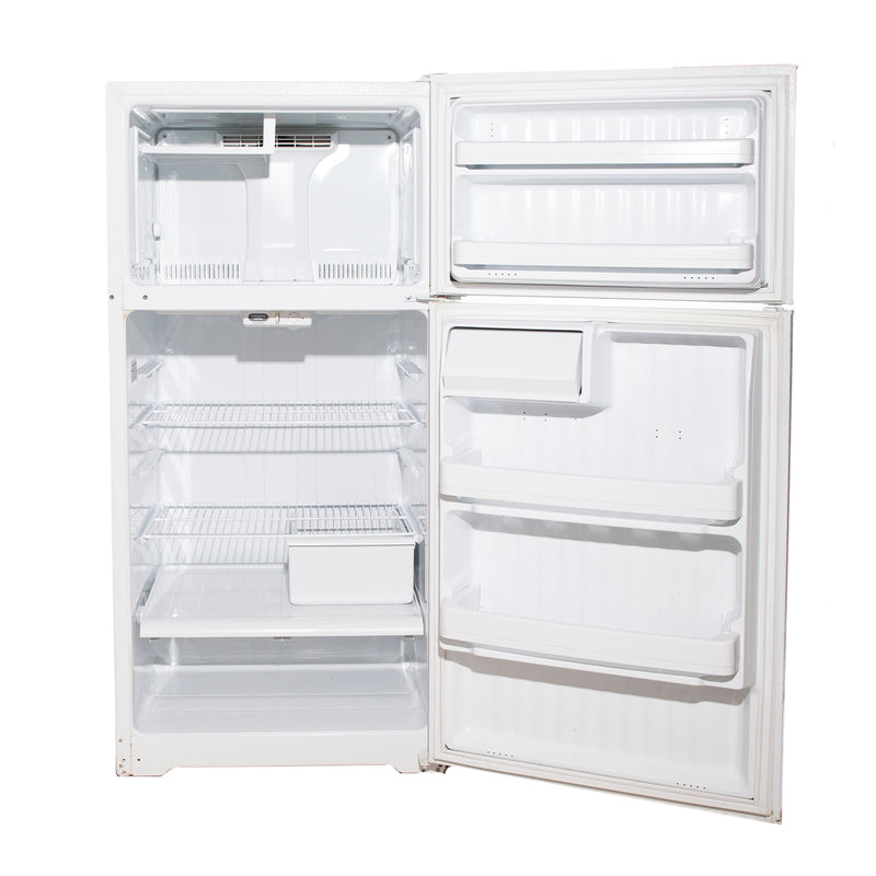 GE 28'' Top Mount Refrigerators GTH16BBSXRWW White (2)