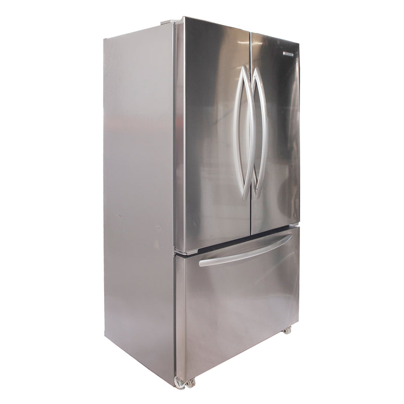 KitchenAid 36'' French Doors Bottom Mount Refrigerators KFCS22EVMSO Stainless Steel (1)