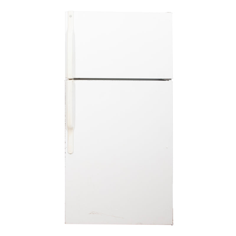 GE 28'' Top Mount Refrigerators GTH16BBSXRWW White
