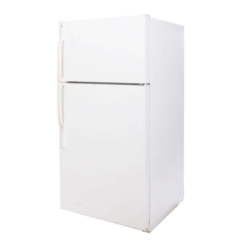 GE 28'' Top Mount Refrigerators GTH16BBSXRWW White (1)