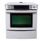 Jenn-Air 30'' Electric Slide Electric Stove JES8850BCW White