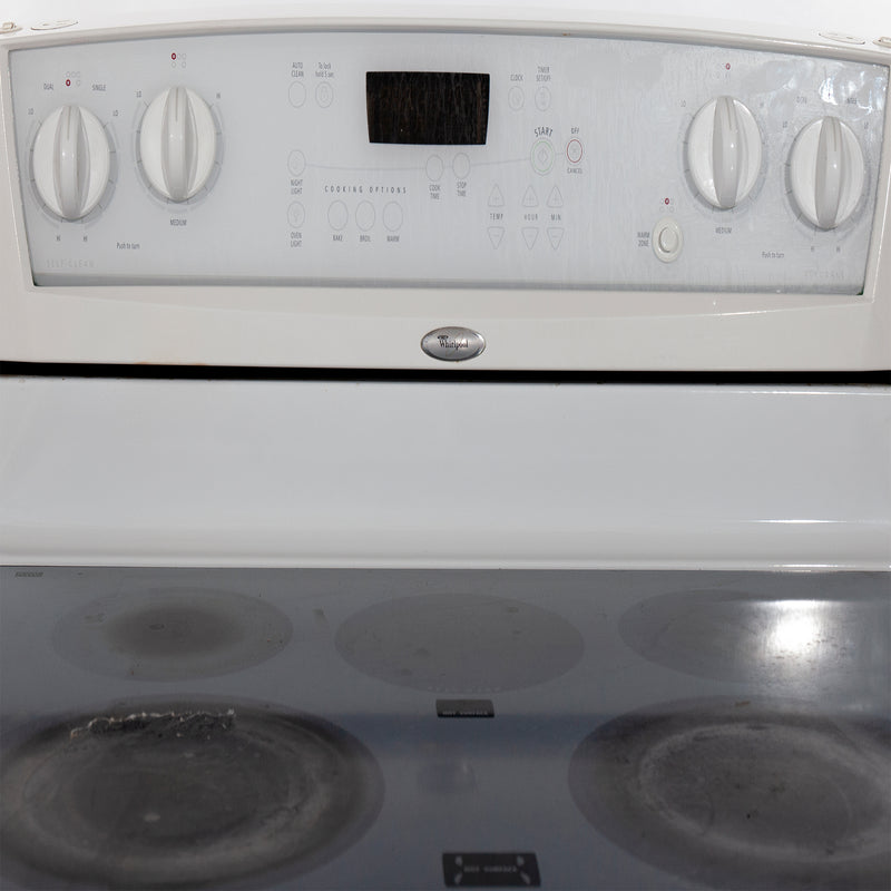 Whirlpool 30 Electric Stove WERP4120PQ2 White (3)