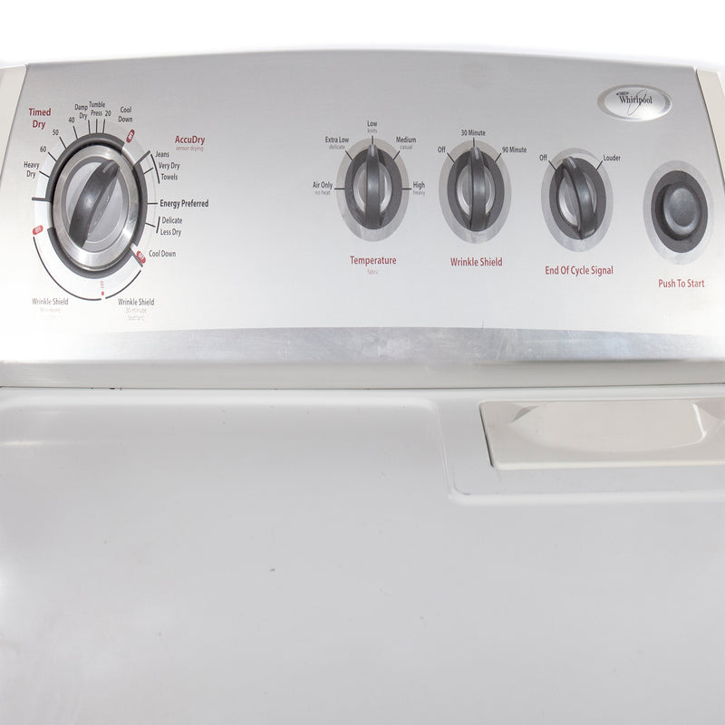 Whirlpool 27'' and 29'' Laundry Pair Washers (Top Load) Laundry Pairs WTW57ESVWO and YWED5700VWO White (3)