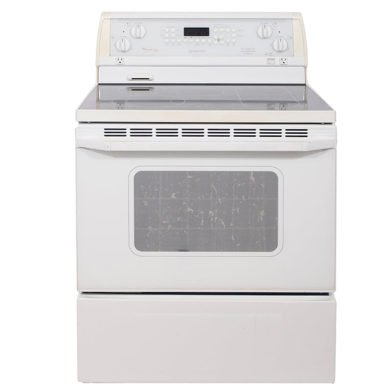 Whirlpool 30'' Electric Stove Electric Stove GJP85800 White