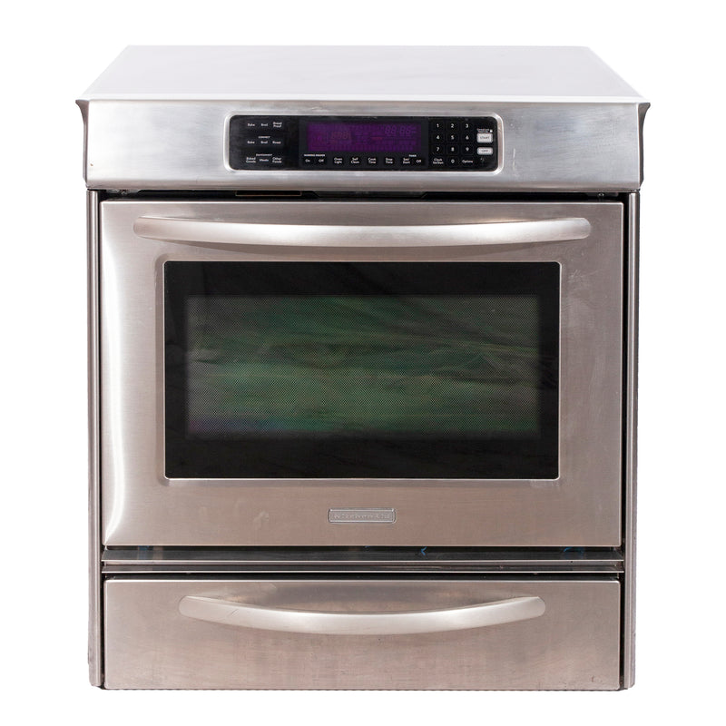 KitchenAid 30'' Electric Electric Stove YKESS908SS03 Stainless Steel