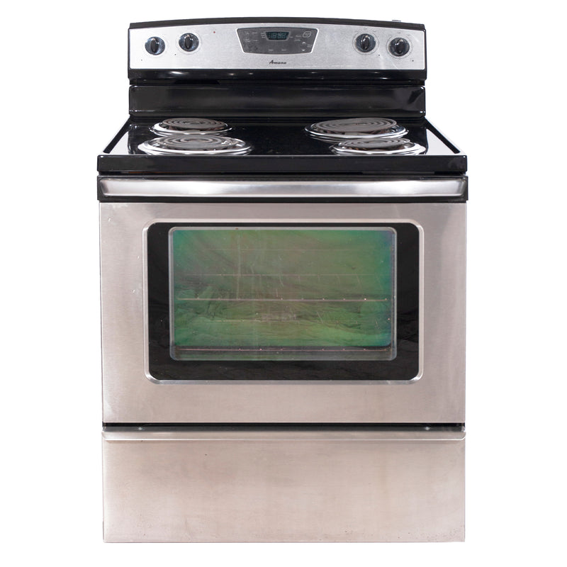 Amana 30'' Freestanding Electric Range Electric Stove AER5522VCS1 Stainless Steel