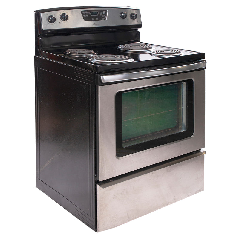 Amana 30'' Freestanding Electric Range Electric Stove AER5522VCS1 Stainless Steel (1)