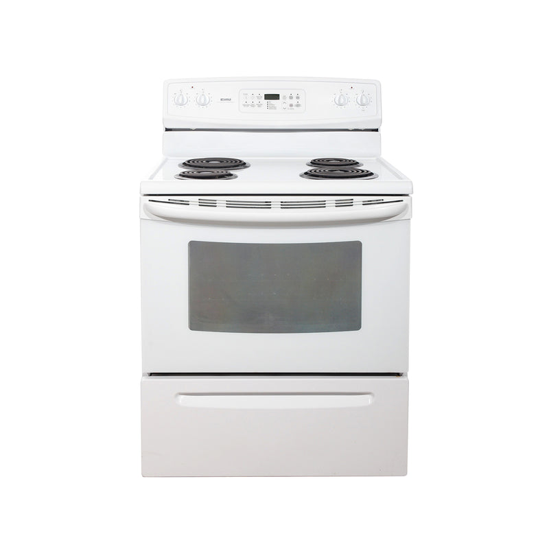 Kenmore 30'' Electric Stove Electric Stove C970-556123 White