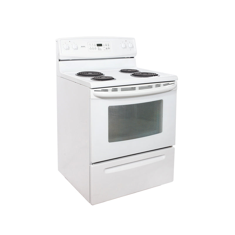 Kenmore 30'' Electric Stove Electric Stove C970-556123 White (1)