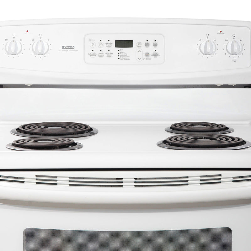 Kenmore 30'' Electric Stove Electric Stove C970-556123 White (2)