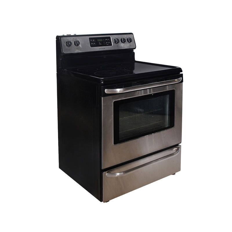 Frigidaire 30'' Freestanding Electric Stove CFEF3050LSK Stainless steel (1)