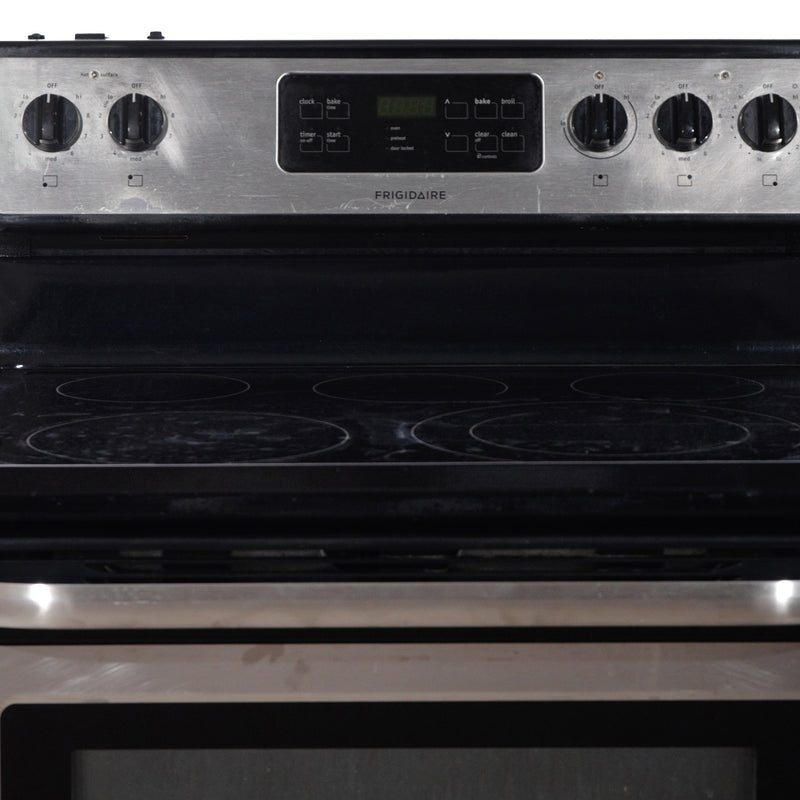 Frigidaire 30'' Freestanding Electric Stove CFEF3050LSK Stainless steel (2)