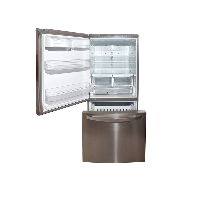 LG 30'' Bottom Mount Refrigerators LDC22370ST/00 Stainless Steel (2)