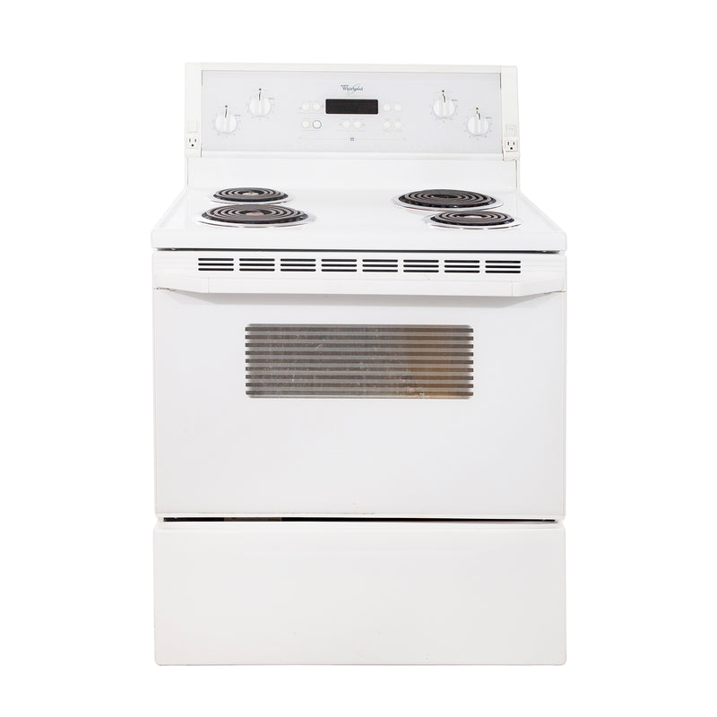 Whirlpool 30'' Electric Stove Gold Electric Stove WDP58803 White