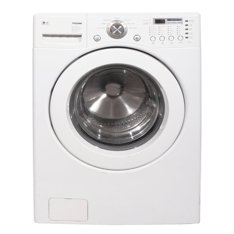 LG 27'' Front-Load Washers (Front Load) WM2077CW White