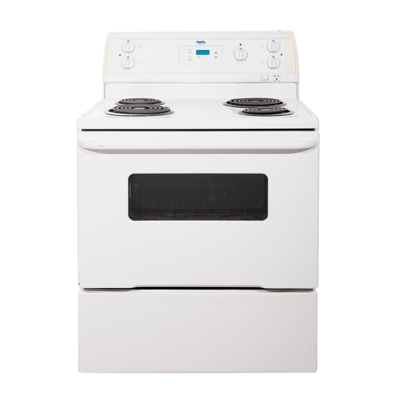 Inglis 30'' Electric Stove IHE31302 White