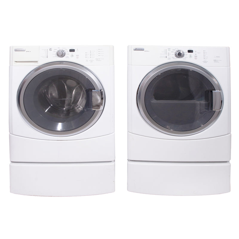 Maytag 27'' Front Load Laundry Pairs MHWZ600TW and MGDZ600TW White