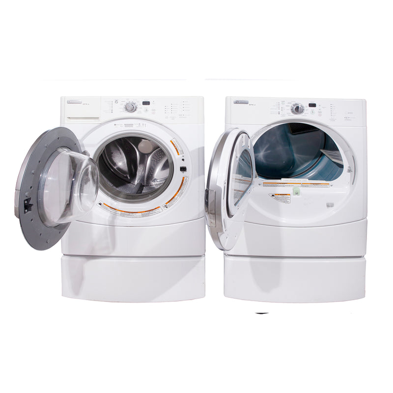 Maytag 27'' Front Load Laundry Pairs MHWZ600TW and MGDZ600TW White (1)