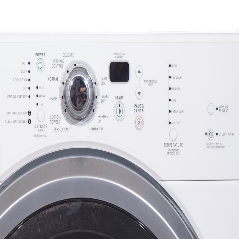 Maytag 27'' Front Load Laundry Pairs MHWZ600TW and MGDZ600TW White (3)