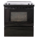 Whirlpool 30'' Slide In Electric Electric Stove GY397LXUB Black