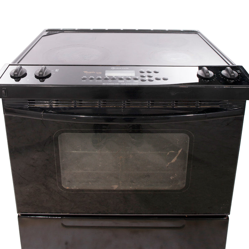 Whirlpool 30'' Slide In Electric Electric Stove GY397LXUB Black (3)